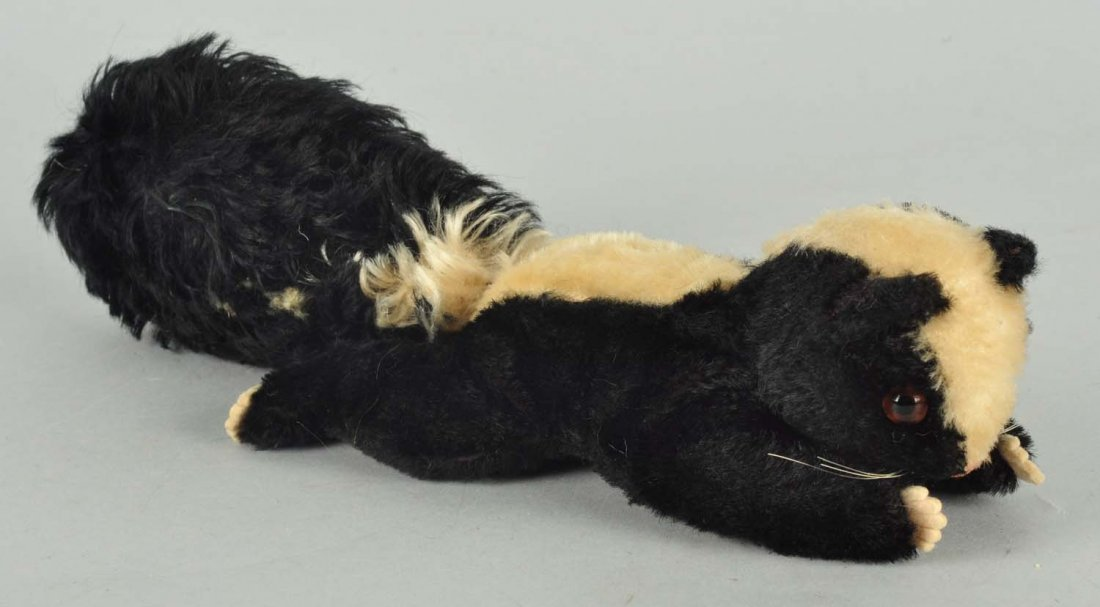 Steiff's Unusual And Extremely Rare Phuy Skunk.