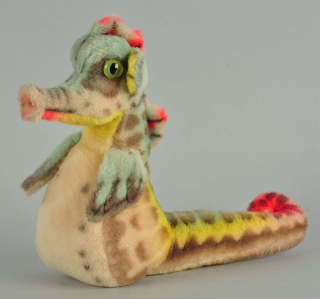 Steiff's Incredibly Rare Large Sigi Seahorse.