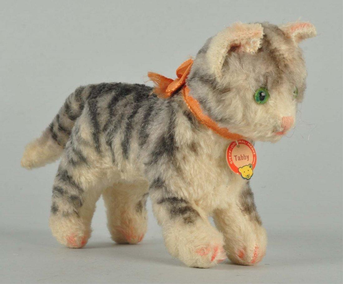 Steiff Pre-War Tabby Cat With IDs.