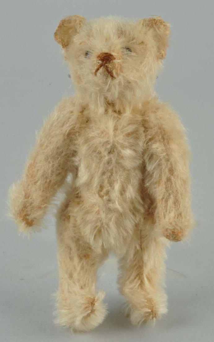 1920's-Era Steiff White Mohair Rattle Bear.