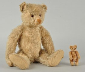 2 Vintage Steiff Bears From A New Hampshire Family