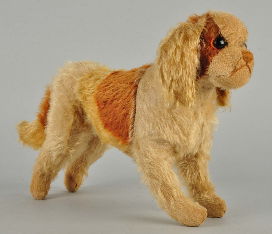 Steiff's Early King Charles Spaniel With ID.