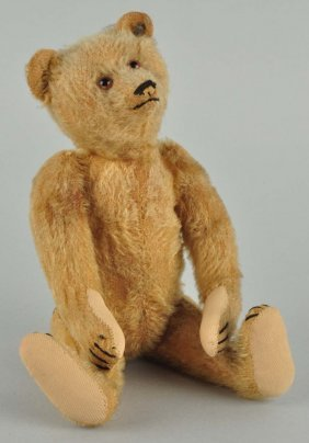 Steiff's Prewar Fully Jointed Teddy Bear With Id.