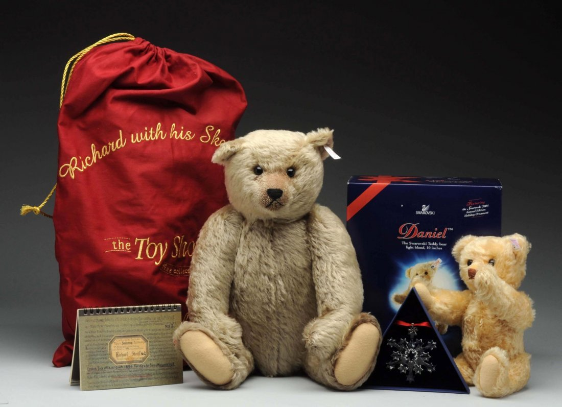 Two Steiff Limited Edition Bears.