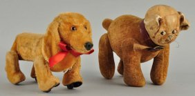Two Unusual And Highly Collectible Novelty Dogs.