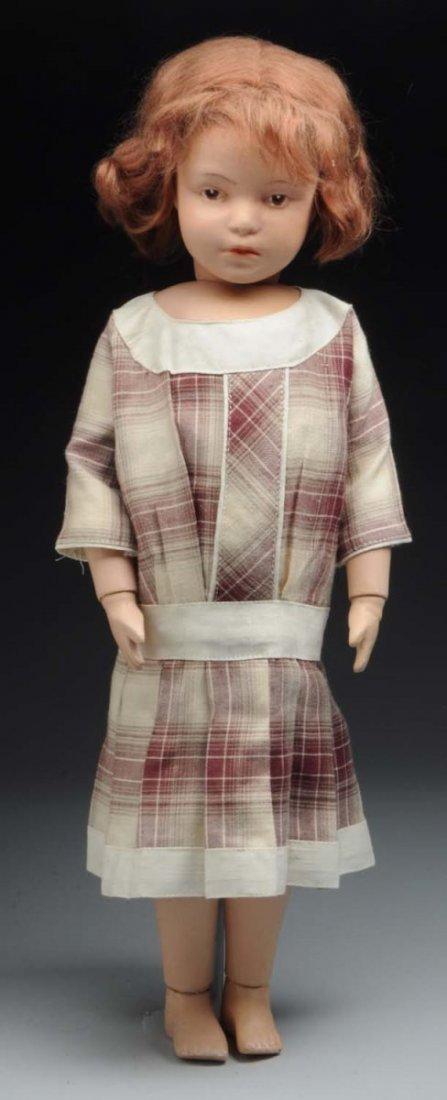 Schoenhut Pouty Character Doll.