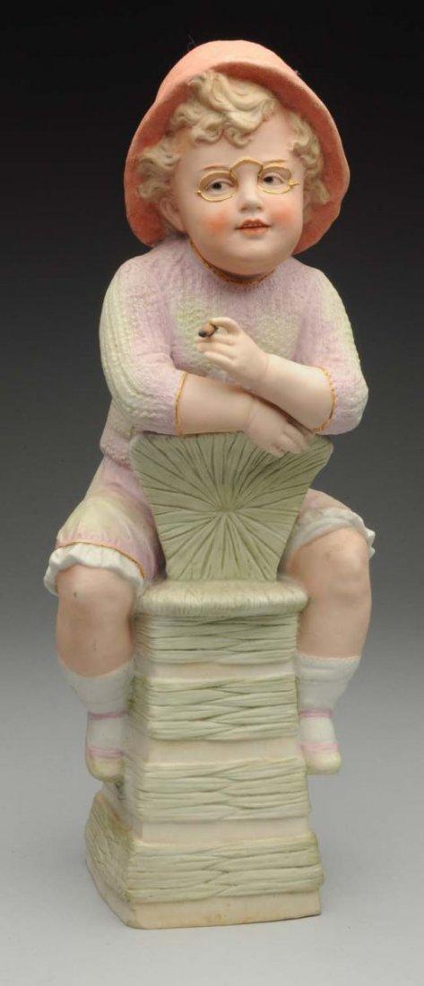 Gebr. Heubach Boy Figurine.
