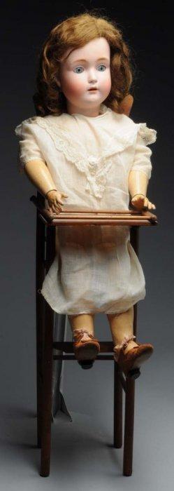 Kestner Doll In Chair.