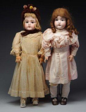 Lot Of 2: Kestner Girl Dolls.