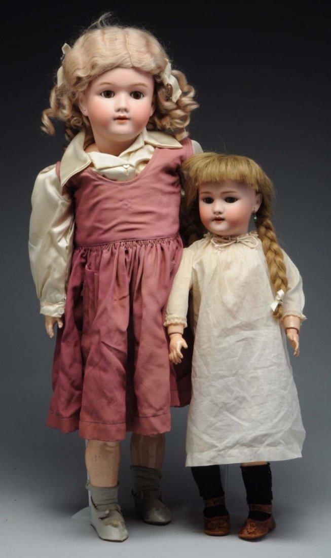 Lot of 2: German Dolls.