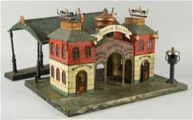 Early Handpainted Marklin Central Station.