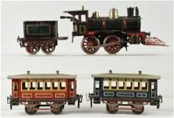 German KBN O Gauge Passenger Train Set.