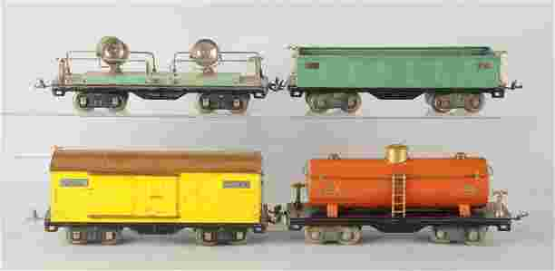 Lot Of 4 Lionel 500 Series Freight Cars