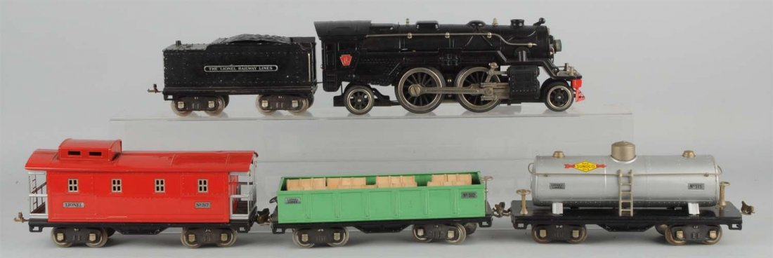 Lionel No. 377 Boxed Freight Set.