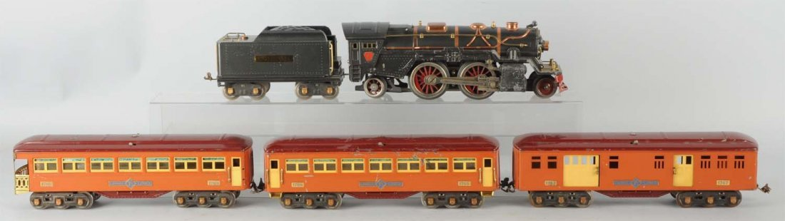 Lot of 5: Lionel No. 385E & Transition Cars.