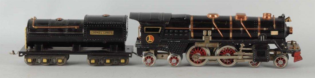 Lionel No. 400E Locomotive & Tender.
