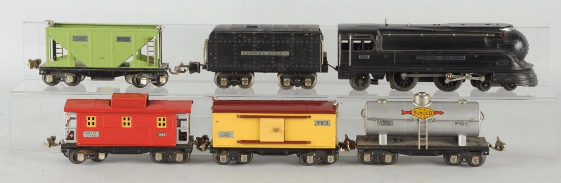 Lionel No. 297 Boxed Freight Set.