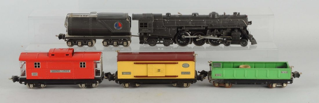 Lionel. No 763 Grey Steam Locomotive.