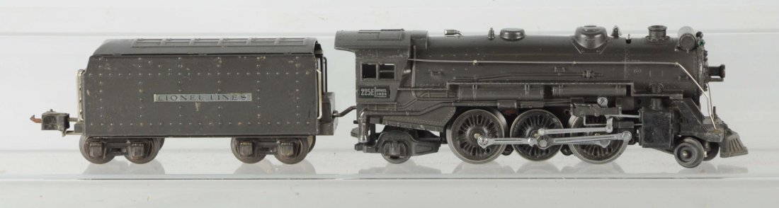 Lionel Steam Locomotive #225 E and Tender.