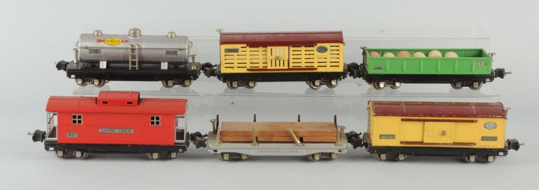 Lot Of 6: 2800 Series Freight Cars.