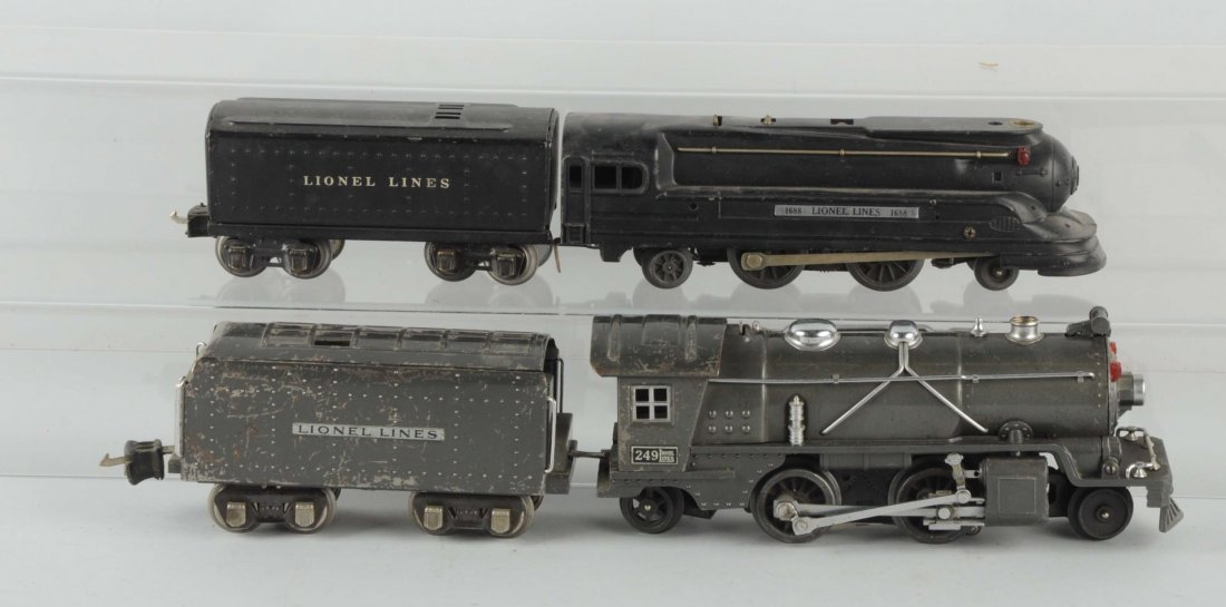 Lot of 4: Lionel Two Sets Locomotives & Tenders.