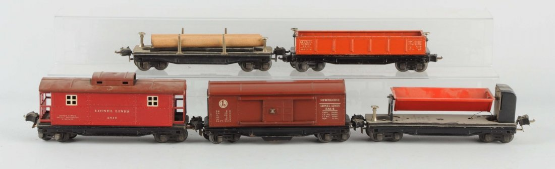 Lot Of 5: Lionel 2800 Series Freight Cars.