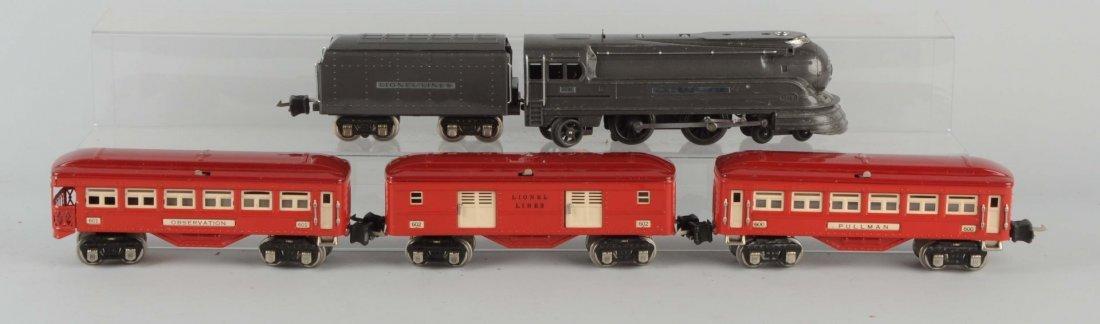 Lot of 5: Lionel No. 238E Locomotive & Passengers.