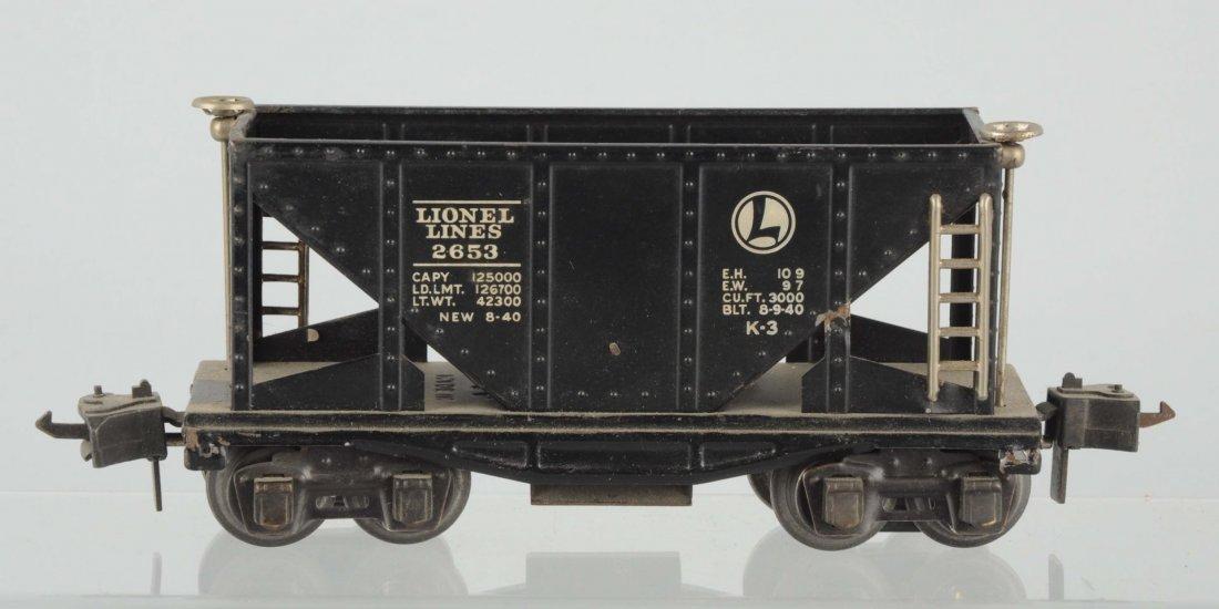 Rare Lionel No. 2653 Hopper Car.