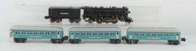 Lot Of 5: Lionel No. 1666 Locomotive & Passengers.