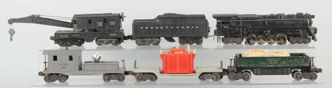 Lionel No. 2143WS Boxed Freight Set.