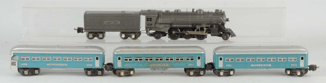 Lionel 1938 No. 1090E Boxed Passenger Set.