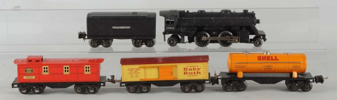 Lionel No. 1684 Boxed Freight Set.