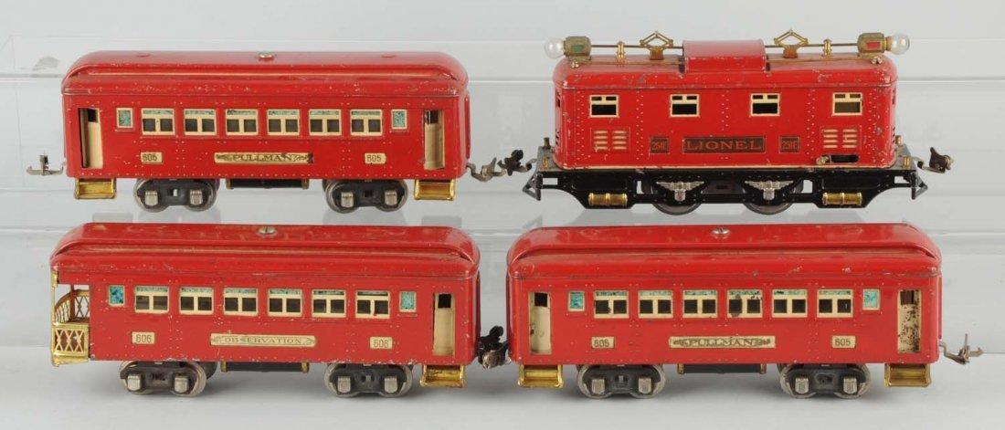 Lionel No. 97E Boxed Passenger Set.