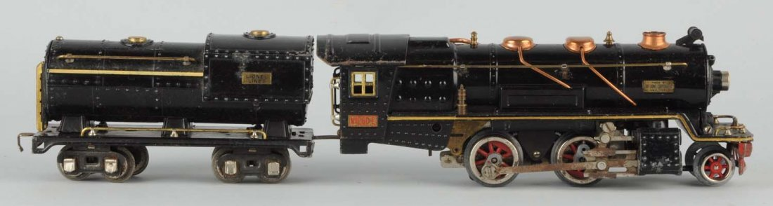 Lionel No. 260E Locomotive & Tender.