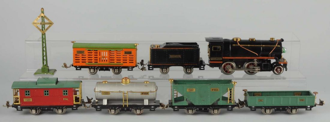 Lionel No. 233 Boxed Freight Set.