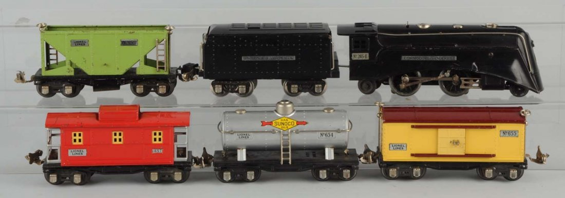 Lionel 273E Commodore Vanderbilt Freight Train.