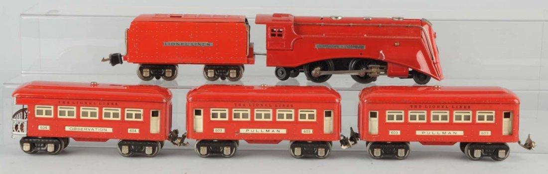 Lionel No. 291W Red Comet Set.