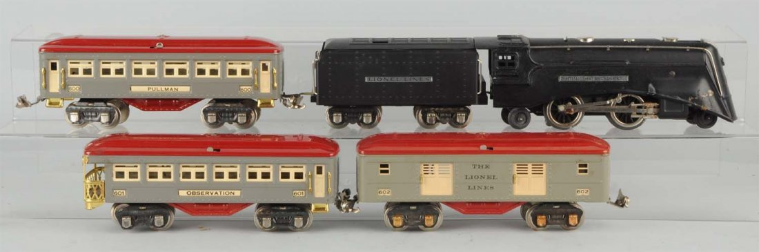 Pre War Lionel No. 274W Boxed Freight Set.