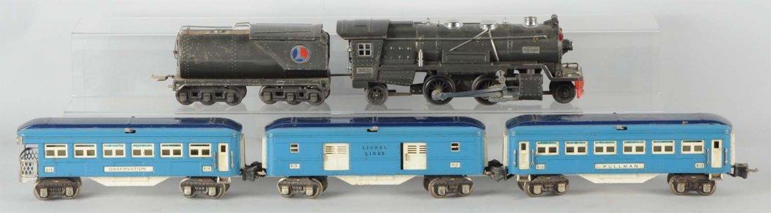 Lot of 5: Lionel No. 263E & Blue Comet Cars.
