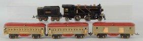Lot Of 5: Lionel No 262e & Passenger Cars.