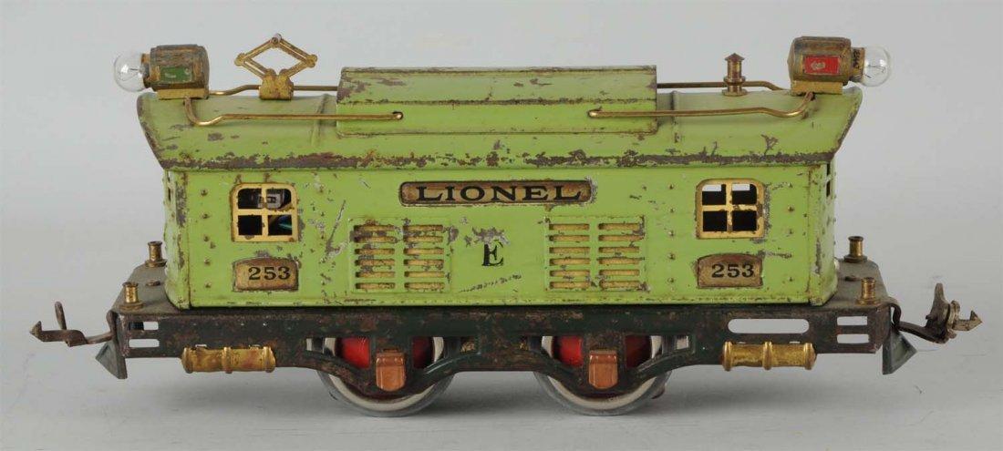 Lionel No. 253 Apple Green Engine.
