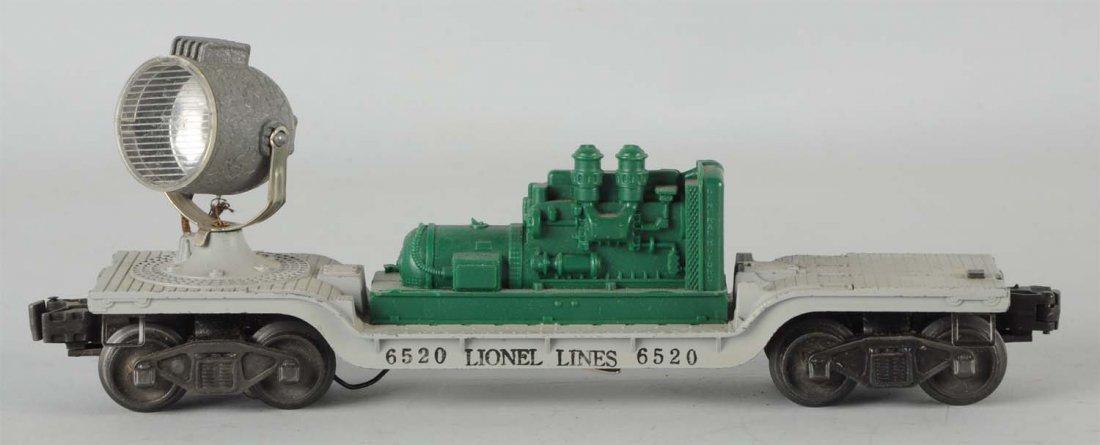 Lionel No. 6520 Searchlight Car.