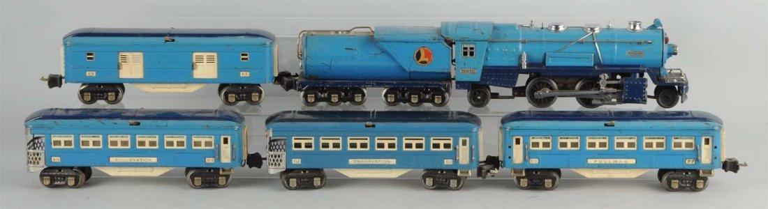 Lionel No. 263 Blue Comet Set.