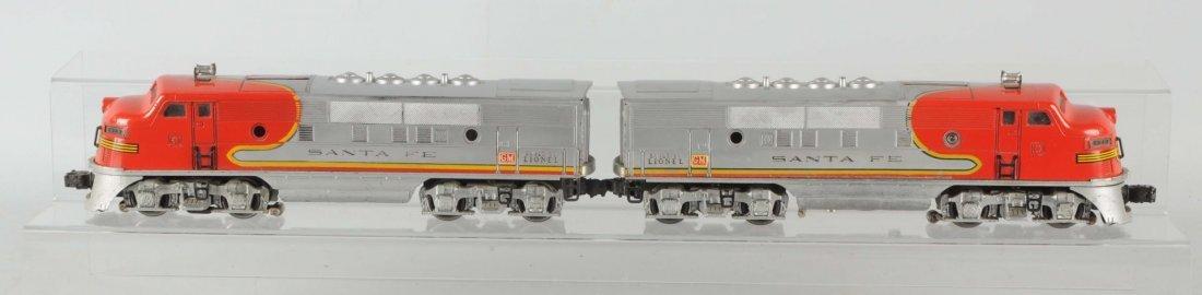 Lionel No. 2343 Santa Fes & Master Carton