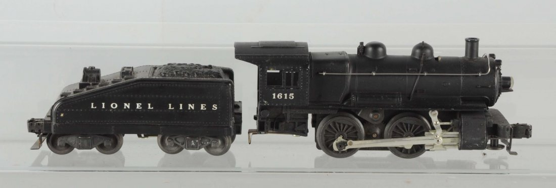 Lionel No. 1615LT Locomotive & Tender.