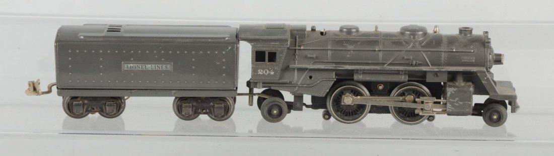Rare Lionel No. 204 Locomotive & Tender.
