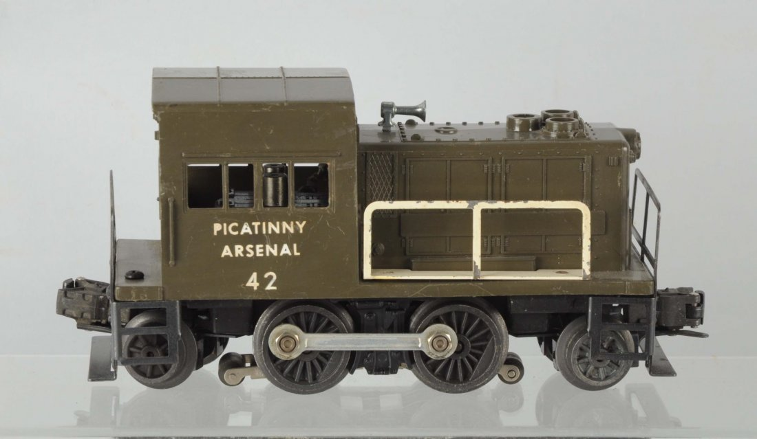 Lionel No. 42 Picatinny Arsenal Switcher.