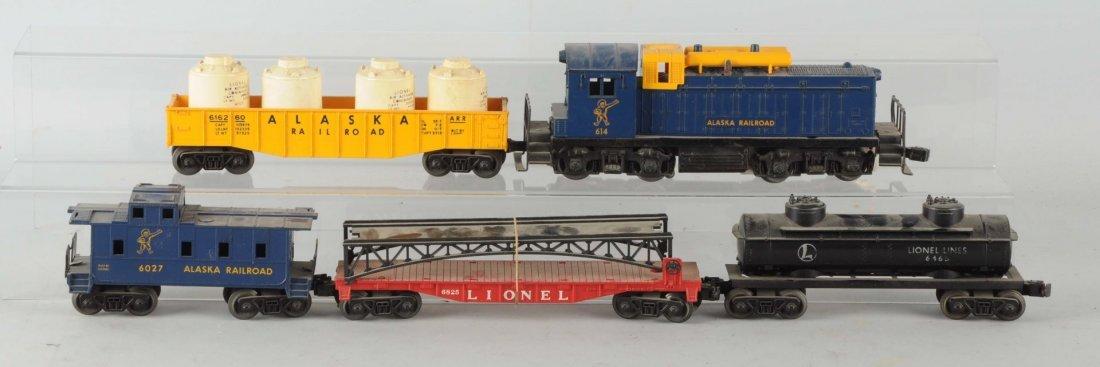 Lionel No. 1611 Alaska Diesel Freight Set.