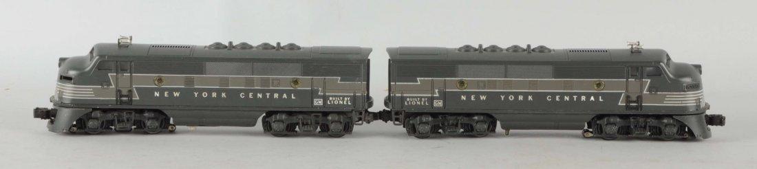 Lionel No. 2354 New York Central Diesel Set.