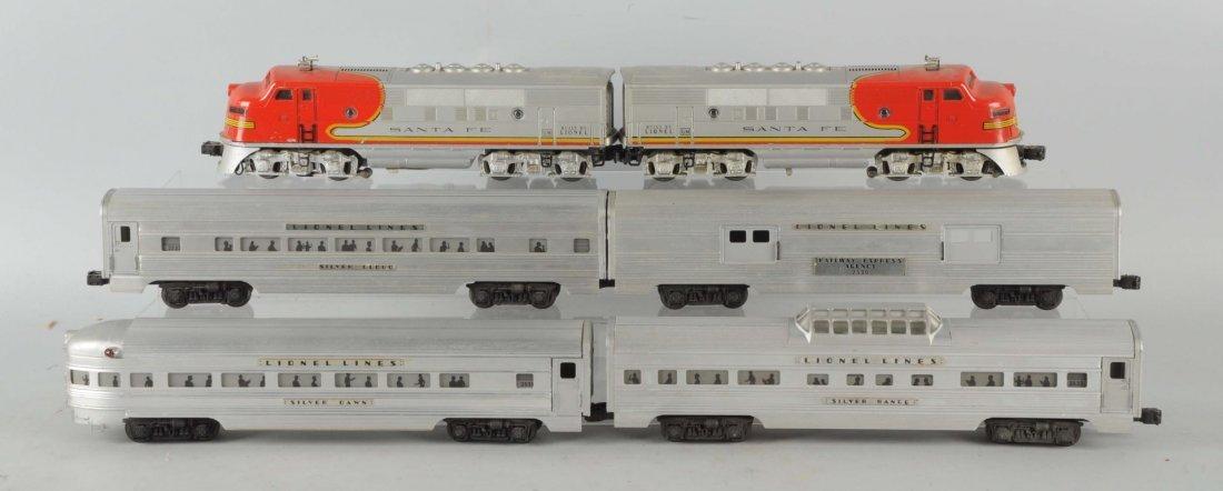 Lot of 6: Lionel No. 2234W Santa Fe Passenger Set.